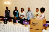 2009 Honorees Brandon Camphor and 1 Way